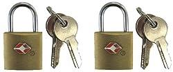 海外旅行の防犯対策やアメリカへの旅行の必需品TSAロック南京錠タイプ