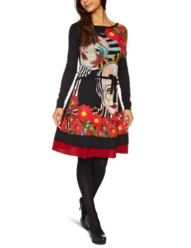 Desigual Ripelas Halterneck Women's Dress