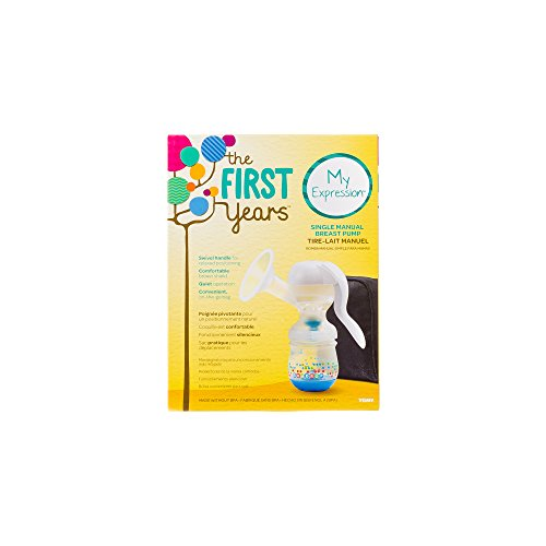 first years manual breast pump