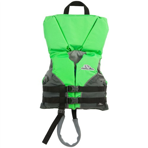Stearns Youth Heads-Up Nylon Vest Life Jacket - 50-90lbs - Green