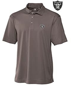 Oakland Raiders Mens Drytec Genre Polo Circuit by Cutter & Buck