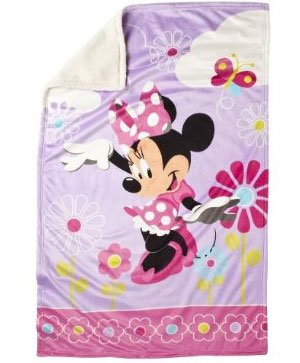 Disney Minnie Mouse Pink Pc Twin Bedding Comforter Set
