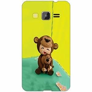 Samsung Galaxy Core Prime Back Cover - Silicon Teddy Designer Cases