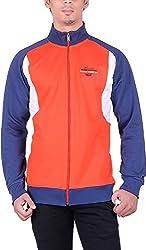 UCC Men's Fleece Regular Fit Sweatshirts (UCC6018BLUE-L)