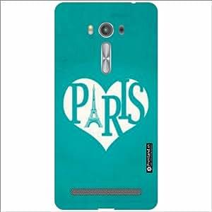 Asus ZenFone 2 Laser ZE550KL Back Cover - Silicon Paris Love Designer Cases