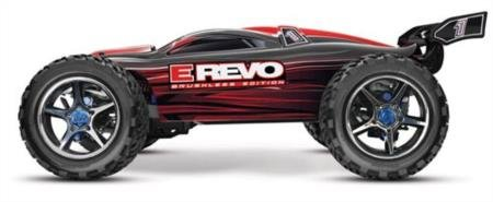 Traxxas 56087 E-Revo Brushless 4Wd Electric Racing Monster Truck Ready-To-Race Trucks (1/10 Scale), Colors May Vary