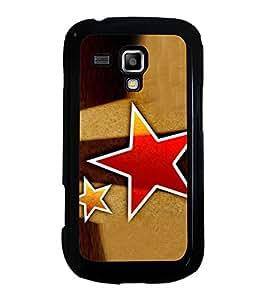 Printvisa Ultra Red Star 2D Hard Polycarbonate Designer Back Case Cover for Samsung Galaxy S ...