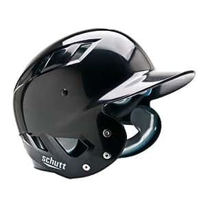 Schutt Sports AiR Maxx T Baseball Batter's Helmet, Black, X-Small