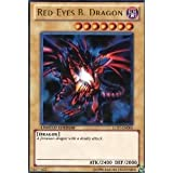 Yu-Gi-Oh! - Red-Eyes B. Dragon (LC01-EN006) - Legendary Collection - Limited Edition - Ultra Rare Toy / Game / Play / Child / Kid
