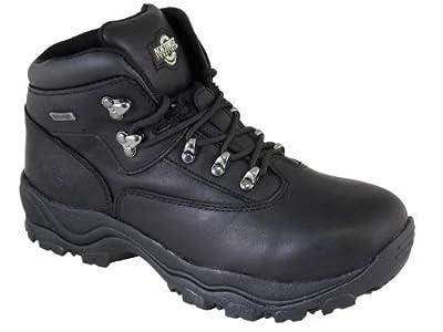 Northwest Territory Inuvik Leather Hiking Boots Waterproof Trekking Mens Walking Shoe