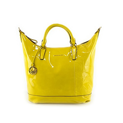 Borsa donna Benetton Shopping Grande - Mod. Geremy - Col. Giallo