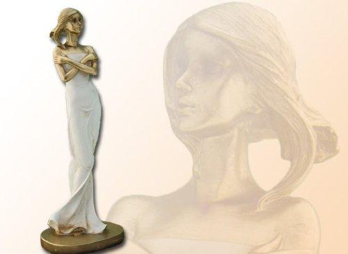 Elegante signora in oro-crema 31 cm