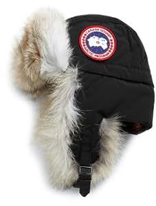 Canada Goose Men's Aviator Hat,Black,Small-Medium
