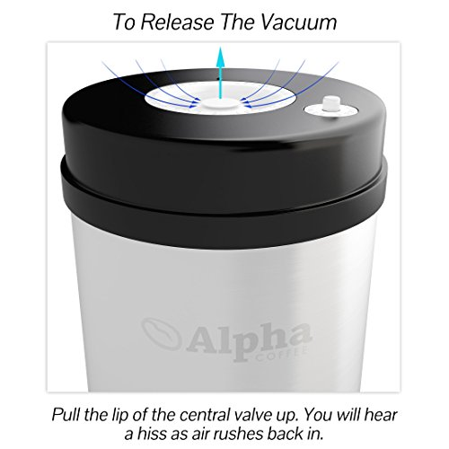 Coffee Storage Container Best Vacuum Seal Canister For Whole Bean