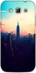 Snoogg New York New York Designer Protective Back Case Cover For Samsung Gala...