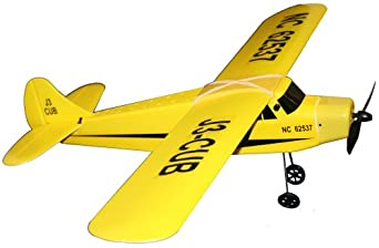 Golden Bright Radio Control Cub Airplane, Yellow