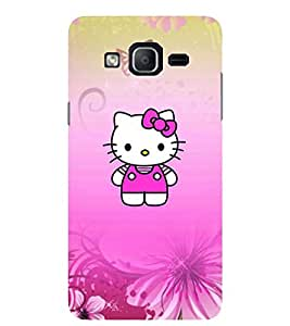 Evaluze KITTY Printed Back Cover for SAMSUNG GALAXY ON5 2015