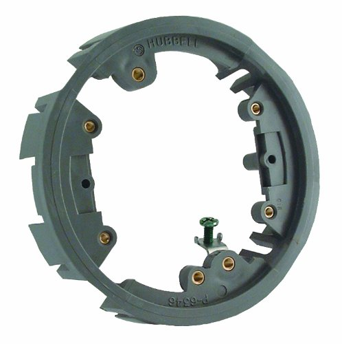 Hubbell Raco 6244 Nonmetallic Round Floor Box Adapter Ring