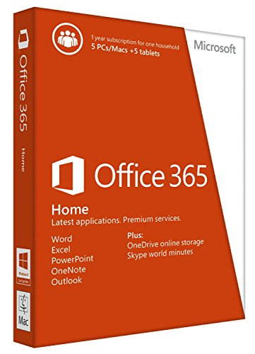 Office 365 Home 1Yr Subscription Key Card