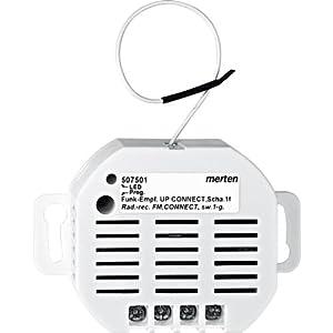 Merten 507501 FunkEmpfänger UP CONNECT, Schalter 1fach  BaumarktKundenbewertung und Beschreibung