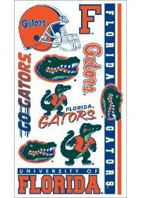 Florida Gators UF NCAA Temporary Tattoos (10 Tattoos)