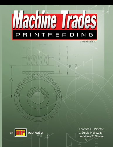 Machine Trades Print Reading - Amer Technical Pub - AT-1867 - ISBN: 0826918670 - ISBN-13: 9780826918673