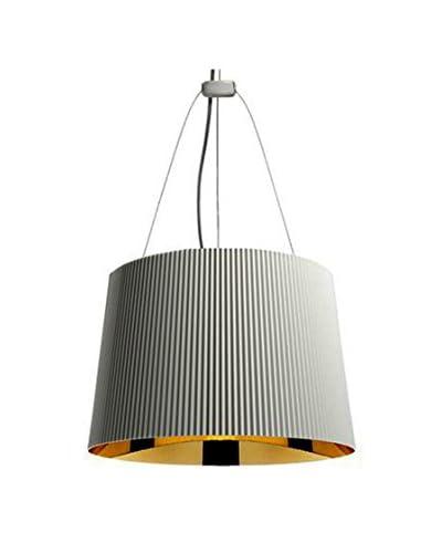 Kartell Lámpara de Techo Ge Blanco / Oro