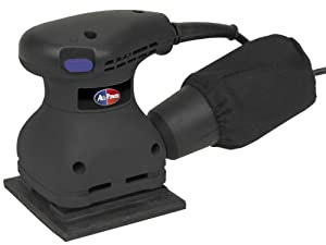 All Power America APT2008 2 Amp Corded 1/4 Sheet Palm Sander With Dust Bag