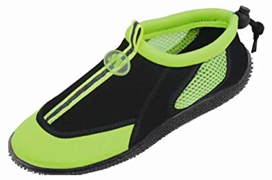 Buy Hazel's Star Ladies Water Shoes with Elastic Mesh and Soft Removable Insole by Hazel's Star