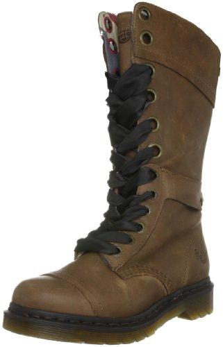 Dr. Martens Women's Triumph 1914 Tan Lace Up Boot 12108220 5 UK
