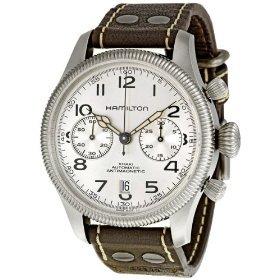 Hamilton H60416553 - Reloj , correa de cuero