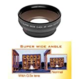 .42x HD Super Wide Angle Fisheye Lens + 2x Digital Telephoto Professional Series Lens + 0.5x Digital Wide Angle Macro Professional Series Lens + 3 Piece Digital Camera Filter Kit + 6-Piece Deluxe Cleaning Kit + Full Size Tripod + Deluxe DB ROTH Accessory Kit For The Sony Cybershot DSC-R1 Digital Cameras