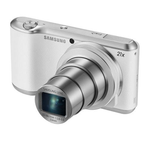 Samsung Galaxy Camera 2 16.3MP CMOS with 21x Optical  Zoom and 4.8″ Touch Screen LCD (WiFi & NFC- White)