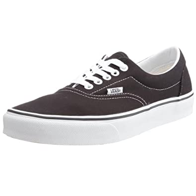Vans U Era, Baskets mode mixte adulte - Noir (Black), 34.5 EU