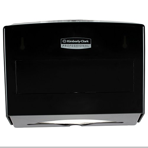 Kimberly-Clark Professional 09215 Scottfold Towel Dispenser, Plastic, 10 3/4w x 4 3/4d x 9h, Smoke (Plastic Paper Towel Dispenser compare prices)