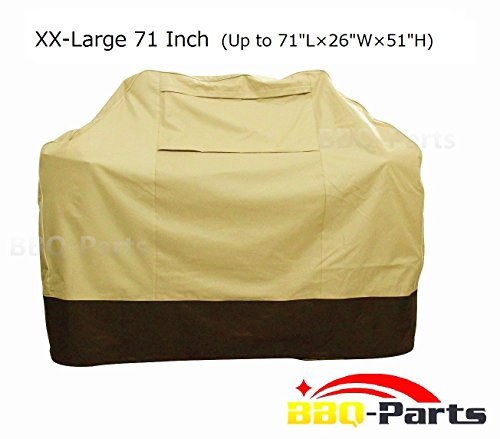 Why Should You Buy bbq-parts Barbecue Grill Cover for Weber, Charmglow, Brinkmann, Jennair, Uniflame...