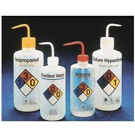 Thermo Scientific Nalgene Safety Wash Bottles, 1000 Ml, Green, Methanol front-136797