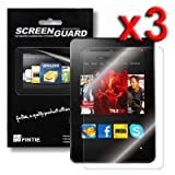 "Fintie Kindle Fire HD 8.9"" Ultra Clear Screen Protector 3 Pack Individual Retail Package (2012 Release / Not Compatible with Kindle Fire HDX 8.9"")"