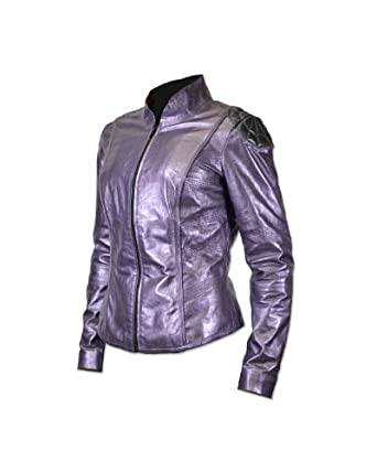 Kick Ass 2 Hit Girl Prop Replica Leather Jacket (Extra Large)