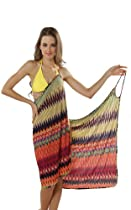 Perfect Swimwear Cover-up Beach Dress #SWSW3037