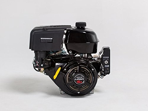 Lifan 1 In. 15 Hp 420 Cc Ohv Electric Start Horizontal Keyway Shaft Engine