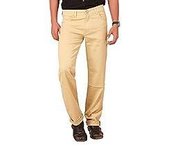 Carrie Men's Regular Fit Jeans (CJ_B231_Beige_32)