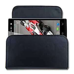 CaseCart Leather Water Resistant Pouch for Xolo Q1000 Opus