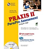 img - for Praxis II Parapro Assessment 0755 and 1755 W/CD-ROM (Best Preparation for Teacher Certification) (Paperback) - Common book / textbook / text book