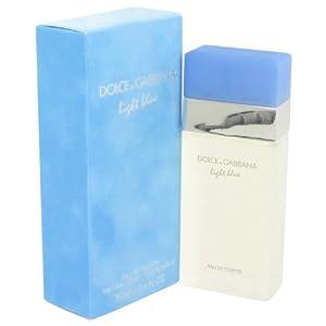 Light Blue by Dolce & Gabbana Eau De Toilette Spray 1.7 oz / 50 ml for Women + Kors by Michael Kors Vial (sample) .05 oz for Women