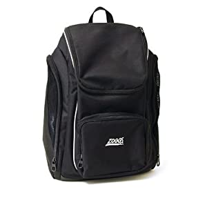 Zoggs Pool Side Back Pack - Black
