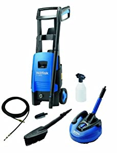 Nilfisk C120 3-6 PAD Big Accessory Pressure Washer with 1650W Motor