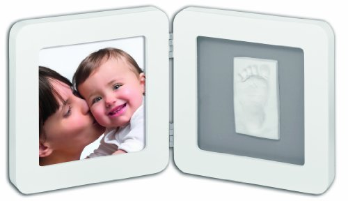 Baby Art Print Frame (White & Grey)