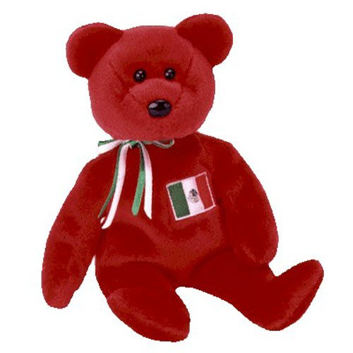 9cb54261f2f Ty Beanie Babies Osito - Mexican Bear - Import It All