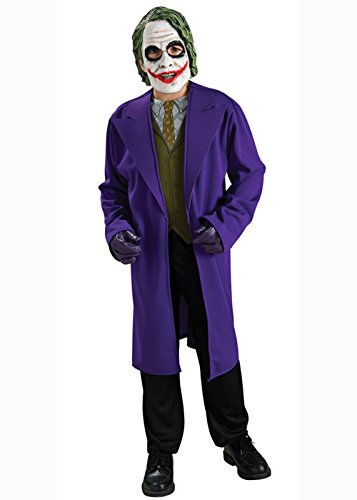 Kids The Joker Fancy Dress Costume Small 3-4 years